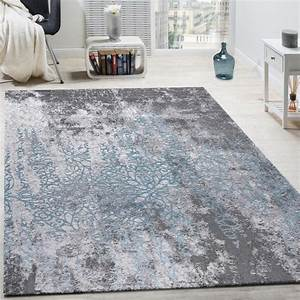 Teppich Shabby Chic : designer teppich wohnzimmer teppiche 3d edel shabby chick vintage grau blau wohn und ~ Buech-reservation.com Haus und Dekorationen