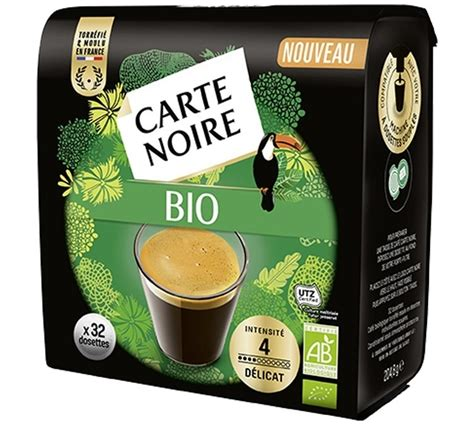 We are what we eat, so if we consumer too many unnatural. Carte Noire BIO organic coffee pods for Senseo x 32