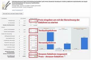 Firmenwagen Kosten Berechnen : amazon fba rechner so finden sie die produkte mit dem gr ten profit marketplace analytics ~ Themetempest.com Abrechnung