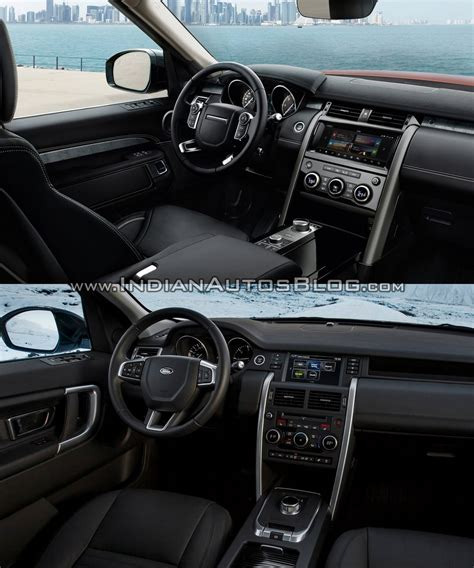 land rover interior 2017 2017 land rover discovery vs land rover discovery sport