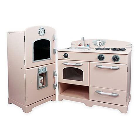 Kitchen Play Set by Buy Teamson 2 Wooden Play Kitchen Set In Pink