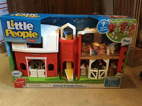 fisher price  people animal friends farm barn play