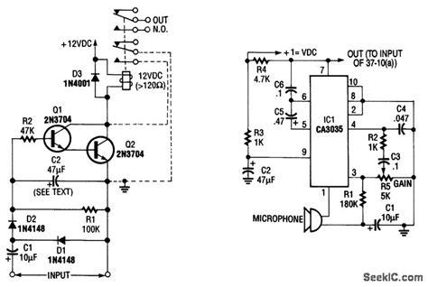 Sound Sensor Circuit Diagram Seekic