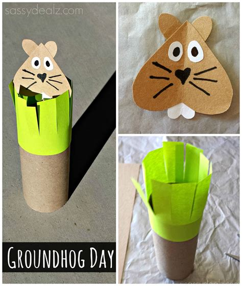 groundhogs day toilet paper roll craft for toilet 677   3efef4d7ce14e3a90a4d3c55a9bfbe0a