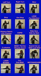 Hand Signals And More