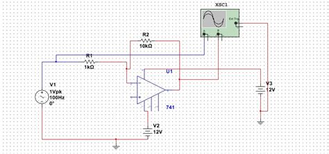 Operational Amplifier How Can Measure Gain Multisim