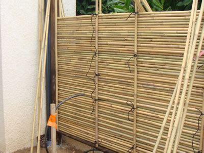 lovely palissade en bambou comment fabriquer un brise vue 9 photo3 18 jpg homesus net