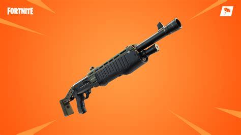fortnite update  brings legendary pump shotgun
