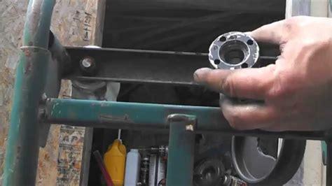 mercruiser trim cylinder rebuild youtube