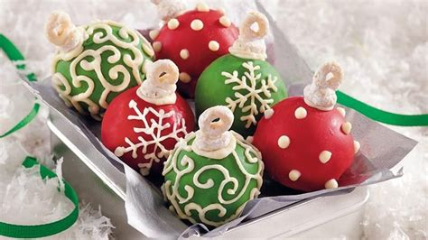 cake ball ornaments recipe from betty crocker