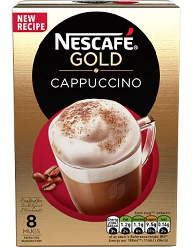 › nescafe gold instant coffee. Nescafe Gold Instant Cappuccino in individual packets