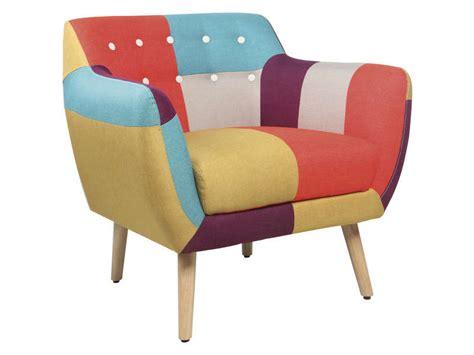 conforama chaise de jardin fauteuil en tissu patchwork stockholm vente de chaise de