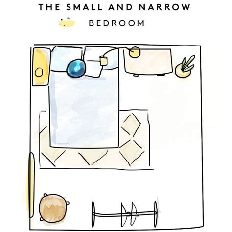 Small Bedroom Layout by 3 Creative Bedroom Layouts For Every Room Size