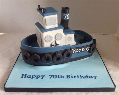 Tugboat Cake by Tug Boat Birthday Cake Flickr Photo Sharing