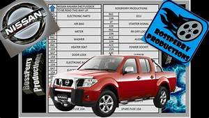 Nissan Navara D40 Fuse Box And Obd2 Diagnostics Port Locations Including Diagram  Pathfinder