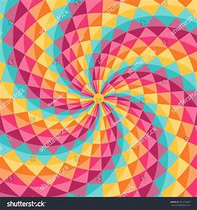 Geometric Pattern Diamond Shaped Figures Perfect Stock ...