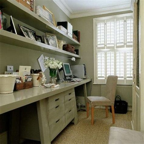 images  narrow office ideas  pinterest