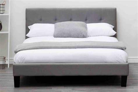 Blenheim Grey Charcoal Fabric Upholstered Bed Frame Single