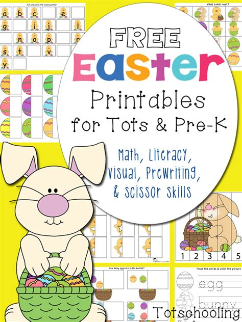 free easter printables for toddlers and prek 840 | easter%2Bpack%2Bpin