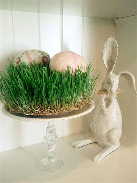 wheat grass decor ideas      easter