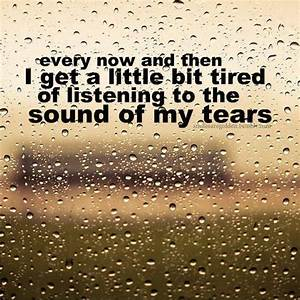 My Tears Quotes. QuotesGram
