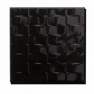 Carrelage Noir Salle De Bain : carrelage mural terra noir 20x20cm tous les produits ~ Dailycaller-alerts.com Idées de Décoration