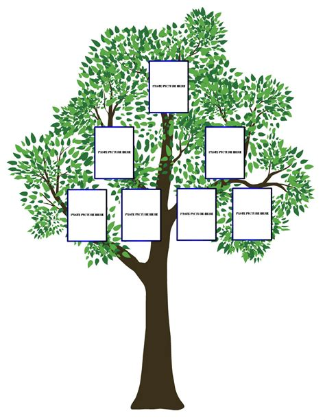 photo family tree template blank family tree chart jpg 971 1 254 pixels family tree