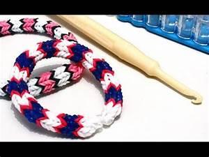 Bracelet Avec Elastique : tuto bracelet lastique quadrafish rainbow loom en fran ais youtube ~ Melissatoandfro.com Idées de Décoration