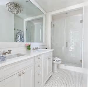White Bathroom Ideas Kohler Adjustable Shelf With Electrical Outlets Transitional Bathroom The Hunted Interior