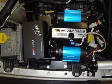 mores versatile jeep compressor bracket works