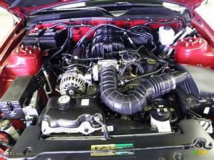 2008 Ford Mustang V6 Deluxe Coupe 4 0 Liter Sohc 12