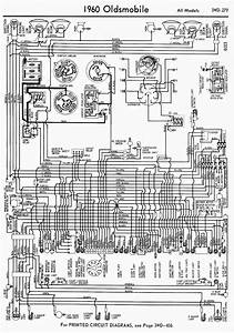 Wiring Diagram For 1960 Oldsmobile All Models  60258