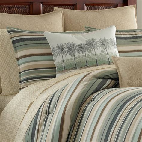 bahama bedding sale bahama canvas stripe comforter set from beddingstyle com
