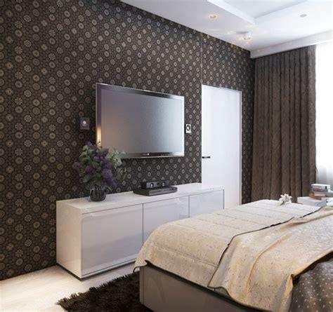 idee papier peint chambre idées déco chambre adulte papier peint