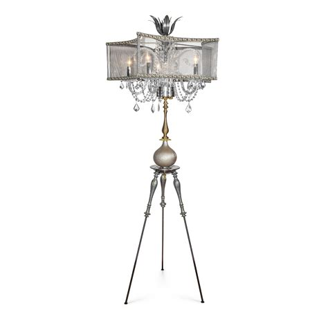 chandelier style floor l lila 76 quot brass iron chandelier style floor l
