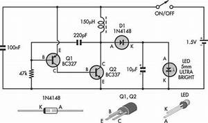 Led Torch Uses Blocking Oscillator