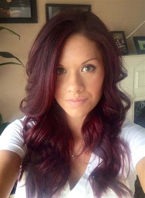Red Violet Hair Hair And Beauty Pinterest Love This