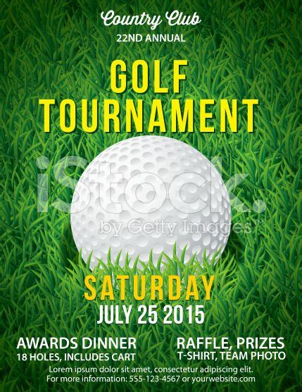 vector golf tournament poster invitation template large