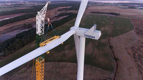vestas  build greeces largest windfarm