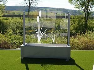 Windschutz aus glas fur garten und terrasse for Feuerstelle garten mit milchglas balkon preise