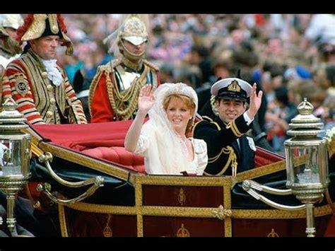 royal wedding  prince andrew  sarah ferguson