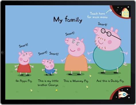 pig names peppa pig pigs and character names on pinterest