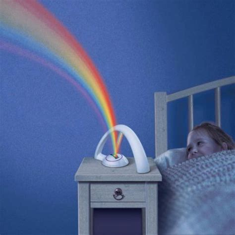 veilleuse pour chambre veilleuse arc en ciel pour enfant bebe led luminaire d
