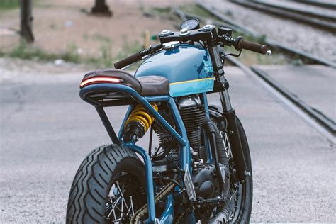 Royal Enfield Continental Gt 'grand Trunk Express' By