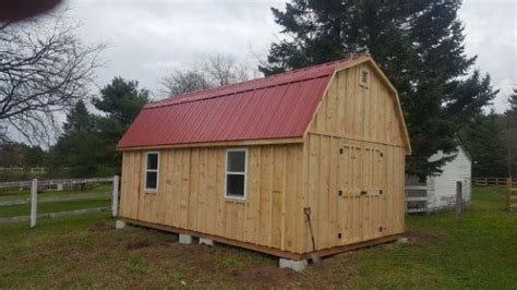 12x20 Shed by Maxwell Garden Center Custom Built Sheds Cabins 107