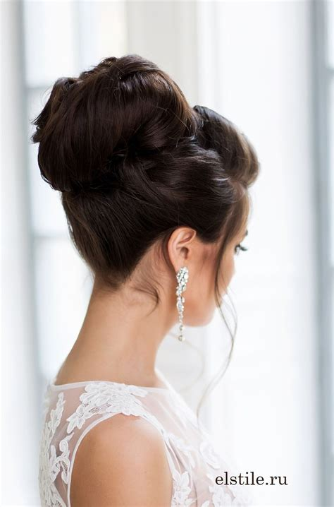 Hair Updo Hairstyles For Weddings by Topknot Wedding Hairstyle Updo