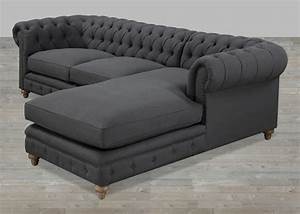 20 photos tufted sectional sofa chaise sofa ideas With sectional sofas no chaise