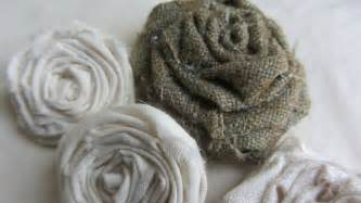 shabby fabric roses how to make adorable vintage shabby chic rolled fabric roses tutorial youtube