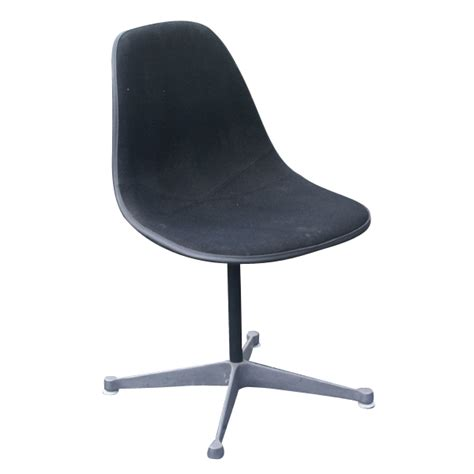herman miller eames black fabric side shell chair ebay