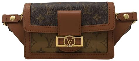 louis vuitton dauphine bumbag  monogram brown